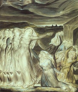 The Parable of the Ten Maidens by William Blake