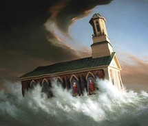 stormy-church