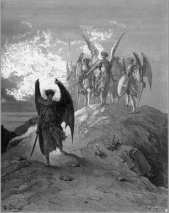 The Watchers (Paradise Lost by Gustave Doré)