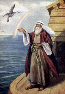 Noah: a unique individual supported by the water of gnosis