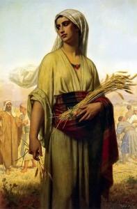 Ruth the Moabitess, by Arthur Hughes