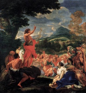 The Preaching of John the Baptist by Baciccio