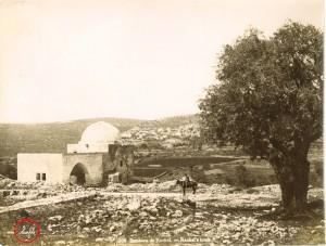 Rachel's tomb near Bethlehem