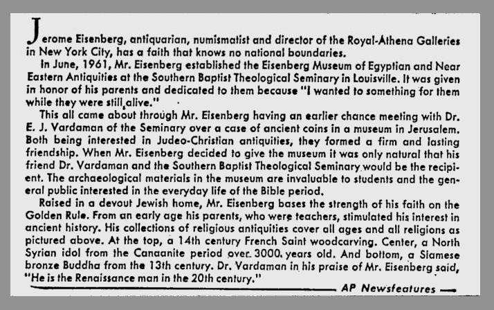 Eisenberg clip
