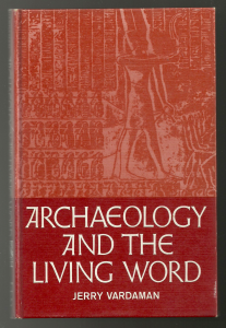 "Vardaman's 1965 book in which he writes about ""the action of God in history"" (p. 48)."
