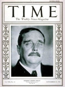 H.G. Wells on the cover of Time magazine, Sept. 20, 1926.
