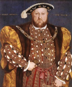 Henry VIII separated the Church of England from papal authority in 1534. He disbanded monasteries, priories, convents and friaries throughout his realm.
