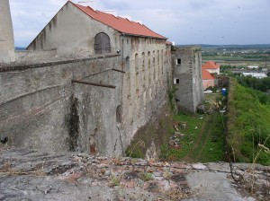 Palanok Castle in eastern Ukraine, one of the many prisons Bakunin knew well.