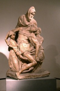 The Pietá(Michelangelo)