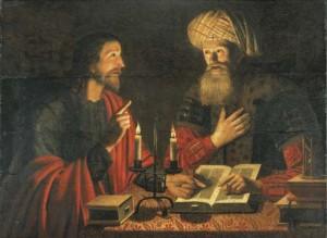Jesus and Nicodemusby Crijn Hendricksz.