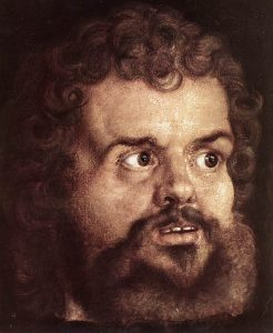 "The evangelist Mark—a detail from Albrecht Dürer's ""The Four Apostles"""