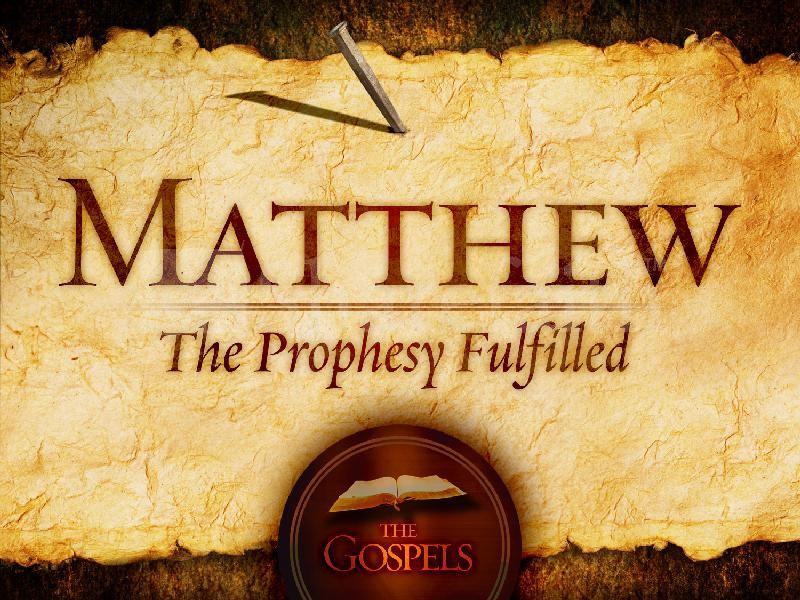 The Book of Matthew?